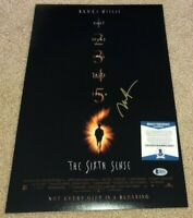 HALEY JOEL OSMENT SIGNED THE SIXTH SENSE 12X18 MOVIE POSTER PHOTO ACTOR BAS