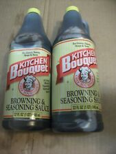 New listing Kitchen Bouquet Browning & Seasoning Sauce, 2Pk 64Oz Bbd Oct/27/2021
