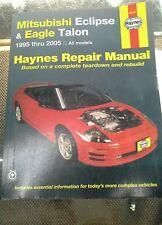 Haynes Repair Manual: Mitsubishi Eclipse&Eagle Talon 1995-2005. 68031, 7071