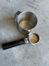 Breville  Cafe Roma Replacement Portafilter Filters W Stainless Pitcher