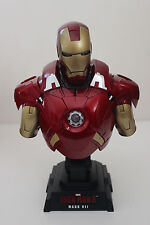 HOT TOYS IRON MAN 3 MARK VII 1:4 COLLECTIBLE FIGURE BUST (USED)
