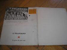 S.PELLEGRINO 1958 SQUADRA BARTALI CICLISMO CYCLISME CYCLING DOSSIER PUBBLICITA