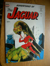 Adventures of the Jaguar #1 VG+ Dinosaurs are animals too !