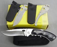 BUCK KNIFE 0550BKS 550BKS 550 SELECTOR 2.0 W/ 3 EXCHANGE BLADE SKINNER USA MADE!