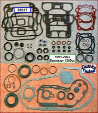 Engine Rebuild Gasket Kit, 91-2003 Harley 1200 Sportster beaded HG (r.17026-91A)