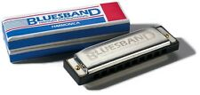 Hohner Bluesband Harmonica (Key of C) Great Beginner's Musical Instrument
