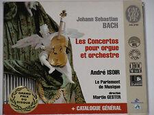 ANDRE Isoir-Bach-Les Concertos pour orgue et orchestre-CD