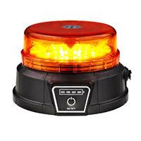 Akku Rundumleuchte mit Magnet orange, LED-Technik