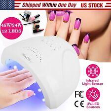Sun/Uv 48W Led Nail Lamp Nail Light Nail Dryer For Gel Nails Toe Nail Curing New
