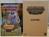 Masters of the Universe Classics Glimmer Action Figure Mattel NEW IN BOX MOTU