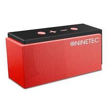 NINETEC SuperSonic 10 Watt Bluetooth Speaker Lautsprecher FM-Radio Micro-SD
