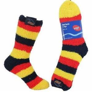 AFL Footy Team Lady Junior Youths Kids Soft Bed Socks