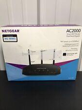 NETGEAR AC2000 Dual Band Gigabit Smart WiFi Router