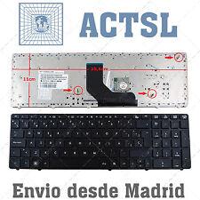 Teclado Español para Hp Compaq Probook 6560B con Marco Negro