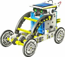 Solarbot 14 in 1 educativo a energia solare Solar Robot Kit