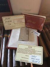 S.T. Dupont Feuerzeug, Linie 1, Silber, Herrenmodell, Querstreifen, TOP Patina