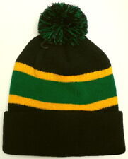 e404e805a2d RASTA JAMAICA JAMAICAN REGGAE FLAG COLOR POM BEANIE SKI KNIT WINTER WARM CAP  HAT