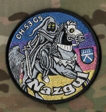 NATO ISAF JTF GERMAN LUFTWAFFE LUCHTER'S AIR FORCE Hooded Reaper NAZGUL CH-53 GS