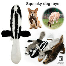 Dog Toy No Stuffing Plush Indestructible Pet Puppy Sound Chew Squeaker Squeaky