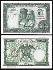Spain 1000 PESETAS 1957 P 149 UNC