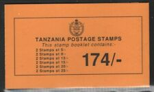 Tanzania 1990 174/ Black on Orange Booklet SG# SB17 NH
