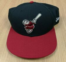 Vtg Idaho Falls Braves 90s Hat Cap Minor League New Era Snapback