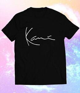 New KARL KANI ICONIC SIGNATURE Logo Size S-3XL