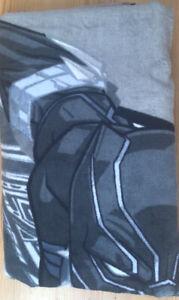 "Marvel Black Panther Beach Towel 30 x 60"" large beach towel chadwick boseman rip"