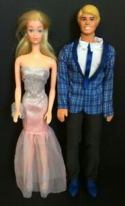 Vintage BARBIE & KEN Dolls Mattel Evening Wear Formal YE