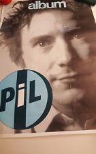 Vintage Public Image Ltd. Pil Promotional Poster Johnny Lydon Rotten Punk Rock
