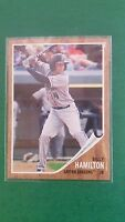 BILLY HAMILTON 2011 TOPPS HERITAGE CARD#129 REDS/DRAGONS ( MINOR LEAGUE ROOKIE )