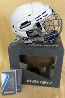 NEW Bauer BHH5100XS Hockey Helmet Small Combo With Bauer True Vision II Cage
