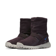 Nike Golkana Port Wine Faux Fur Lined Pull On Suede Sneaker Boots 8.5 *NEW*
