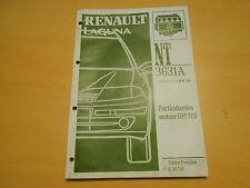 notice technique 3631 A RENAULT LAGUNA  particularités moteur G9T 702