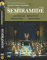 Rossini : Semiramide (1990) Brian Large / DVD, NEW
