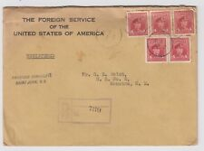 More details for ww2 usa foreign service official sealed cover consulate st john moncton canada