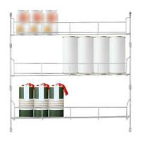 3 Tier Spice Herb Curry Jar Rack Holder Cupboard Storage Kitchen Organiser Tool