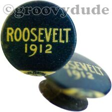 1912 Teddy Roosevelt For President Vintage Political Campaign Pin Button Stud