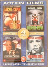 Master With Cracked Fingers / Nightmaster / A Letter From Death Row (DVD, 2003)