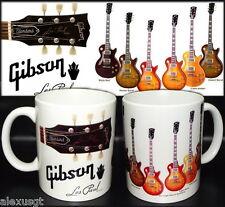 tazza mug music GIBSON Les Paul guitar vintage classic rock scodella ceramica