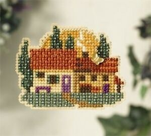 10% Off Mill Hill Counted X-stitch/Bead Spring Bouquet Kit - Tuscan Cottage