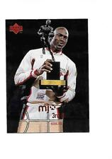 1998 UPPER DECK MJX 3rd Quarter Highlights MICHAEL JORDAN (Bulls) #116