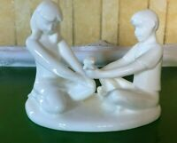 ROYAL DOULTON  IMAGES THE GIFT OF FRIENDSHIP  HN 4446 WHITE CHINA PERFECT