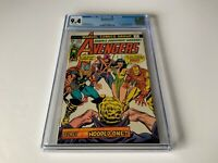 AVENGERS 133 CGC 9.4 WHITE PAGES ORIGIN VISION AND MANTIS MARVEL COMICS 1975