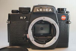 Leica Leitz Wetzlar R7 schwarz ovp