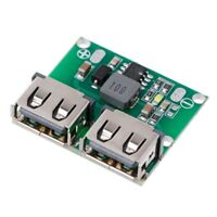 9V 12V 24V to 5V DC-DC Step Down Charger Power Module Dual USB 3A Regulator