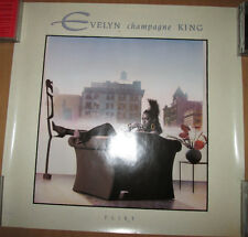 "EVELYN CHAMPAGNE KING ""Flirt"", EMI promotional poster, 1988, 24x24, EX, R&B"