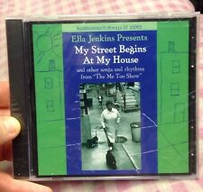 My Street Begins at My House by Ella Jenkins (CD 1990, Smithsonian) NEW