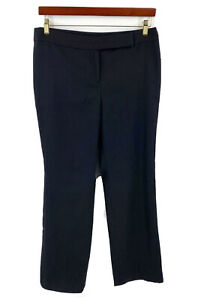 Ann Taylor Lindsay Pants Size 10 Black Solid Career Trousers Womens