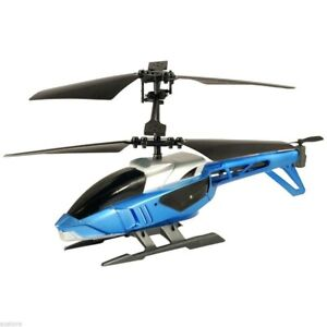 Remote Control SILVERLIT BLU-TECH HELICOPTER FOR IPHONE IPOD SL-84620 BLUE New